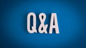 Picture of a a Q&A for the retirement planning article